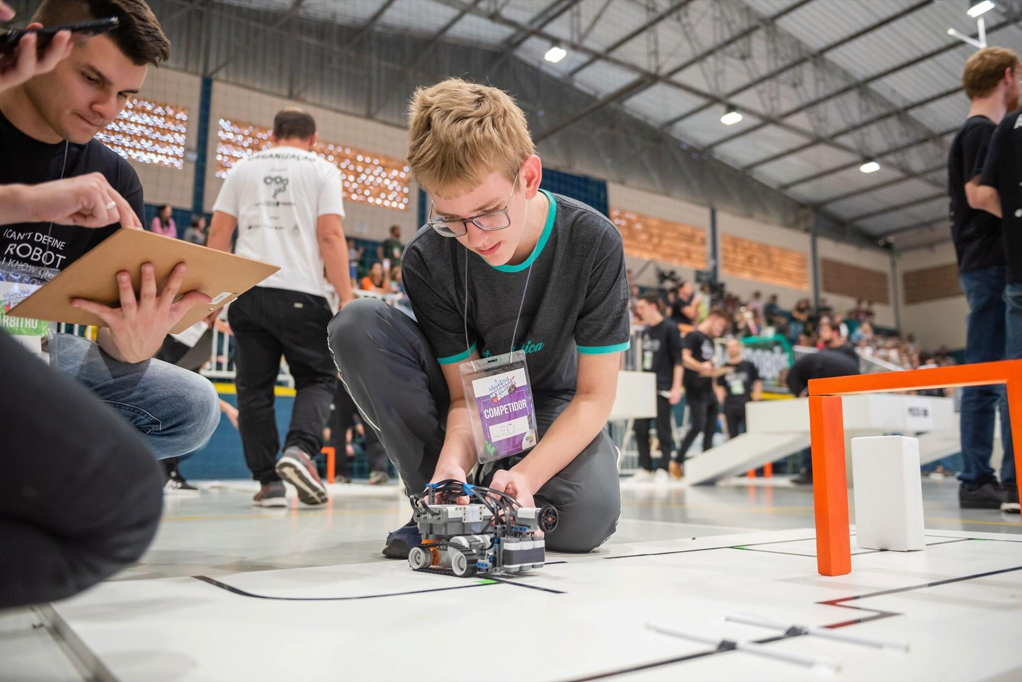 Olimpíada Brasileira de Robótica abre as inscrições no próximo dia 16