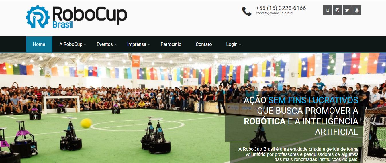 Site RoboCup Brasil